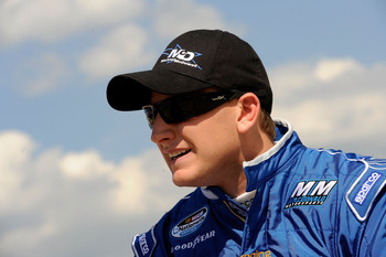 Michael McDowell has spent most of his NASCAR season at the back of the pack