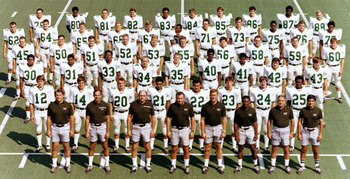 1970 Marshall University football team. From MU website.