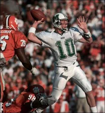 Former Herd QB Chad Pennington. From Herald-Dispatch website.