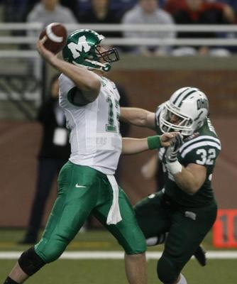 Thundering Herd quarterback Brian Anderson. From Herald-Dispatch website.