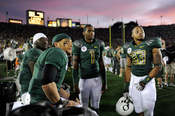 QB Darron Thomas (No. 1) beat out senior Nate Costa for the starting job against New Mexico.