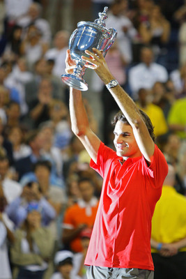 Roger Federer U.S. Open Champion in 2008