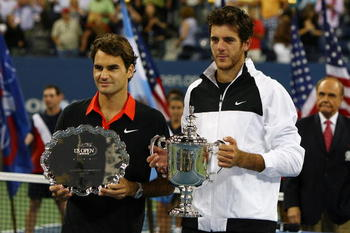 Del Potro ended Federer's 40 Match Winning Streak.