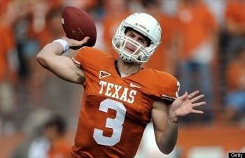 Texas QB Garrett Gilbert is only one of a handful of big-game signal callers the UCLA defense will have to contend with in 2010