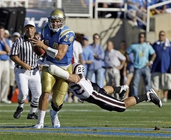 Even if QB Kevin Prince is healthy to start the season, UCLA fans can't help wonder for how long?