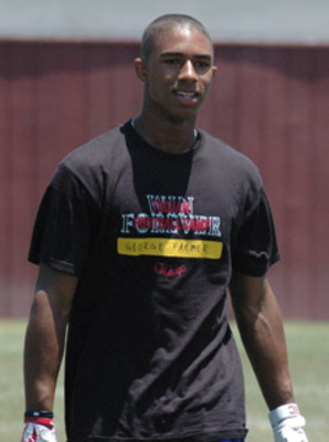 Five-star receiver George Farmer still has USC leading despite a rough summer.