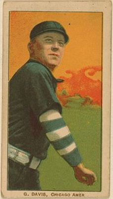 George_davis_baseball_card_display_image
