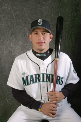 PEORIA, AZ - FEBRUARY 22:  Asdrubal Cabrera poses for a portrait during Seattle Mariniers Photo Day on February 22, 2006 at the Peoria Sports Complex in Peoria, Arizona.  (Photo by Stephen Dunn/Getty Images)