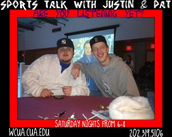 SPORTS TALK WITH JUSTIN AND PAT