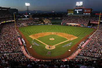 ANAHEIM, CA - JULY 13:  General view of atmosphere during the 81st MLB All-Star Game at Angel Stadium of Anaheim on July 13, 2010 in Anaheim, California.  (Photo by Michael Buckner/Getty Images)
