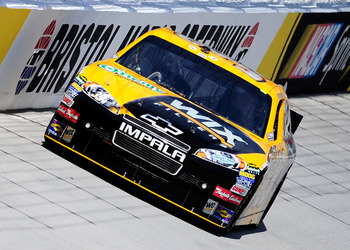 BRISTOL, TN - AUGUST 20:  Ryan Newman drives the #39 Wix Filters Chevrolet during practice for the NASCAR Sprint Cup Series IRWIN Tools Night Race at Bristol Motor Speedway on August 20, 2010 in Bristol, Tennessee.  (Photo by Rusty Jarrett/Getty Images fo