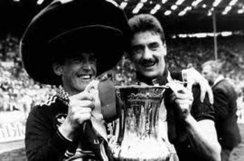 Ian Rush and Dalglish