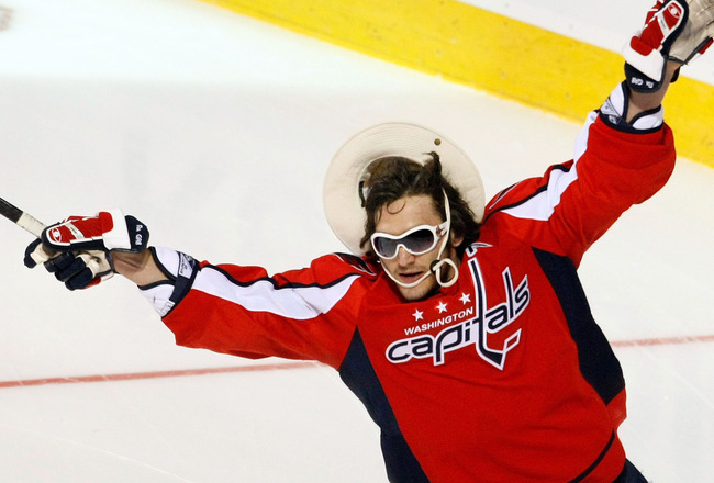 MONTREAL - JANUARY 24:  Eastern Conference All-Star Alex Ovechkin of the Washington Capitals competes in the 'Scotiabank NHL Fan Fav Breakaway Challenge' during the Honda NHL Superskills competition as part of the 2009 NHL All-Star weekend on January 24,