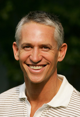 AUGUSTA, GA - APRIL 03:  BBC commentator Gary Lineker poses for a picture on the second practice day prior to the start of The Masters at the Augusta National Golf Club on April 3, 2007 in Augusta, Georgia.  (Photo by David Cannon/Getty Images)