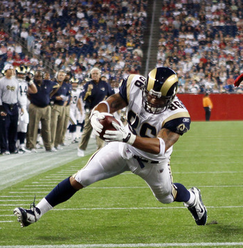Rams tight end Michael Hoomanawanui