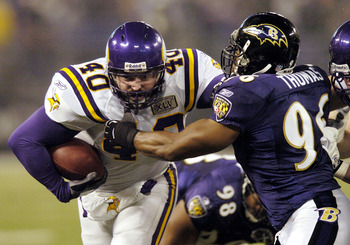 Jim Kleinsasser enters his 12 season with the Vikings.