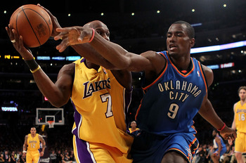 Serge Ibaka headlines the Thunder's impressive second-unit.