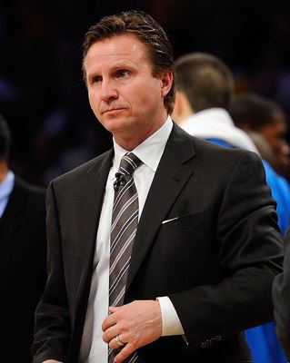 Scott Brooks, the 2010 NBA Coach of the Year.