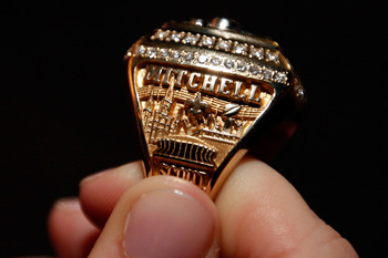A Saint's Superbowl ring