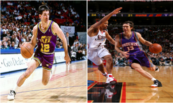 John Stockton and Steve Nash