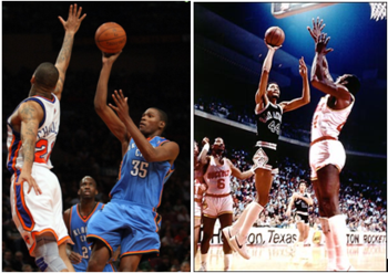 Kevin Durant Has Many Similarities to George Gervin