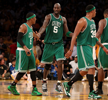 Kevin Garnett, Paul Pierce and....Rajon Rondo