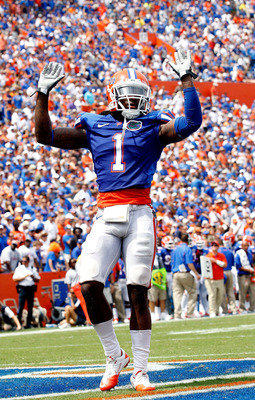 Junior cornerback Janoris Jenkins got the Gators on the scoreboard with a 67-yard interception return for a touchdown.