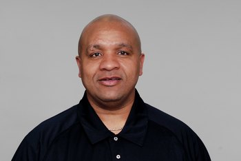 BALTIMORE - 2008:  Hue Jackson of the Baltimore Ravens poses for his 2008 NFL headshot at photo day in Baltimore, Maryland.  (Photo by Getty Images)