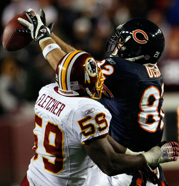 Redskins Line Backer, London Fletcher