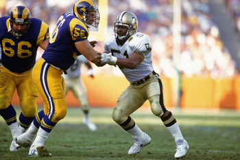 You were able to bend the defensive but you couldn't break them. The Saints were excellent in turnovers back in '91.