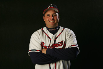 Fredi Gonzalez was the Atlanta Braves third base coach before getting hired by the Florida Marlins in 2006.