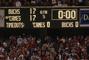 The 2003 Fiesta Bowl Heads To Overtime