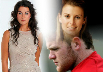 Hooker Jenny shares Wayne Rooney... Coleen's marriage transforms into a nightmare (Photo Montage made by author Isaac Asante)