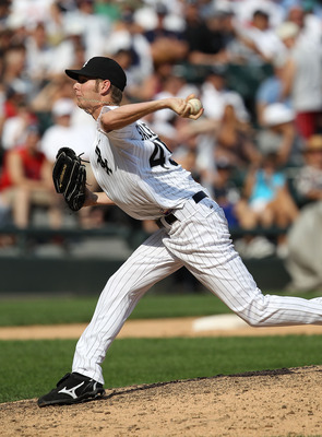 CHICAGO - AUGUST 29: Chris Sale #49 of the Chicago White Sox pitches against the New York Yankees at U.S. Cellular Field on August 29, 2010 in Chicago, Illinois. The Yankees defeated the White Sox 2-1. (Photo by Jonathan Daniel/Getty Images)