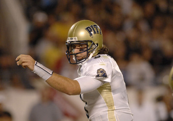 Pitt quarterback Tyler Palko during a game between Pittsburgh and Central Florida at the Citrus Bowl in Orlando, Florida on October 13, 2006. (Photo by A. Messerschmidt/Getty Images)