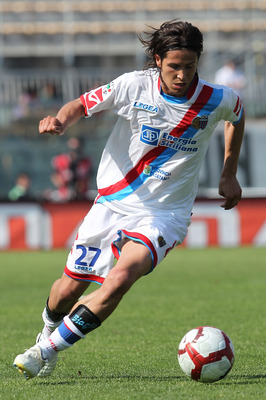At 470,000 euros, the Catania midfielder is one of Serie A's best bargains.