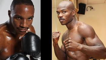Undefeated two-time champions Devon Alexander (left) and TImothy Bradley (right) will be fighting on January 29, 2011. (Photos: DonKing.com and Round1mag.com)