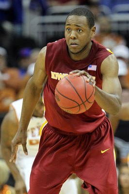 KANSAS CITY, MO - MARCH 10:  Craig Brackins #21 of the Iowa State Cyclones moves the ball in the second half against the Texas Longhorns during the first round game of the 2010 Phillips 66 Big 12 Men's Basketball Tournament at the Sprint Center on March 1