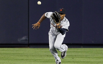 Austin Jackson - OF, Detroit Tigers (.309 AVG, .363 OBP, .419 SLG, .783 OPS, 89 R, 3 HR, 32 RBI, 21 SB)