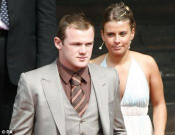 Coleen Rooney and Wayne Rooney (Picture)