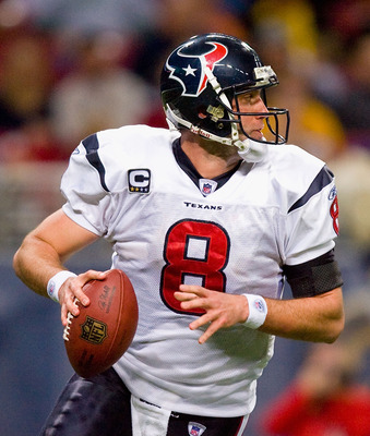 Texans quarterback Matt Schaub