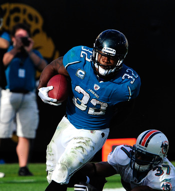 Jaguars running back Maurice Jones-Drew