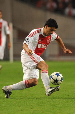 Luis Suarez has scored 76 league goal for Ajax over the past three years.