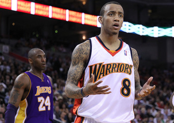 Can Monta Ellis and young phenom Steph Curry gel on the court?