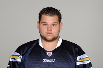 SAN DIEGO - 2009:  Brandyn Dombrowski of the San Diego Chargers poses for his 2009 NFL headshot at photo day in San Diego, California.  (Photo by NFL Photos)