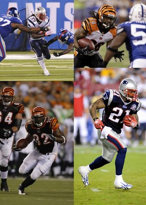 Bengals Patriots Running Backs 2010
