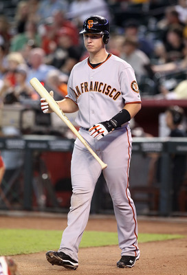 Posey was brilliant for the Giants after being called up to replace Bengie Molina.