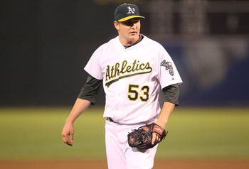 Trevor Cahill put in a great 2010 campaign, despite starting in the minors.