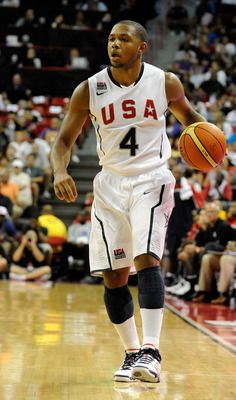 Eric Gordon is one of six guards on Team USA's twelve man roster.