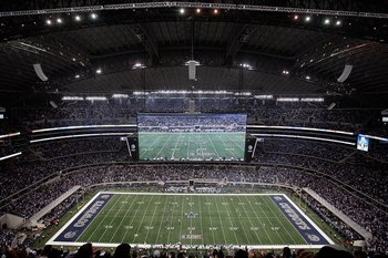 Superbowl XLIV will be played at beautiful Cowboys Stadium in Arlington, TX.